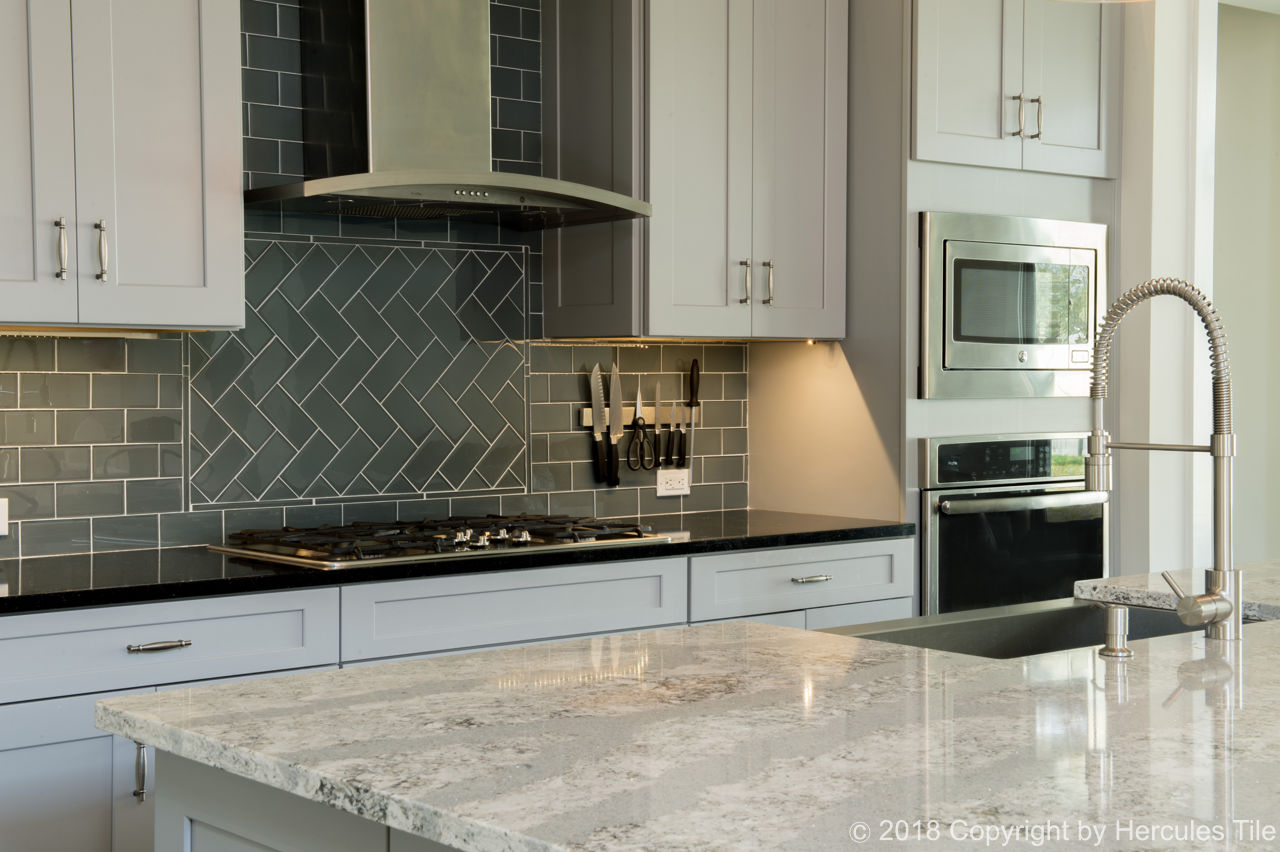 Kitchen Backsplash Installation in Palm Coast - Hercules Tile